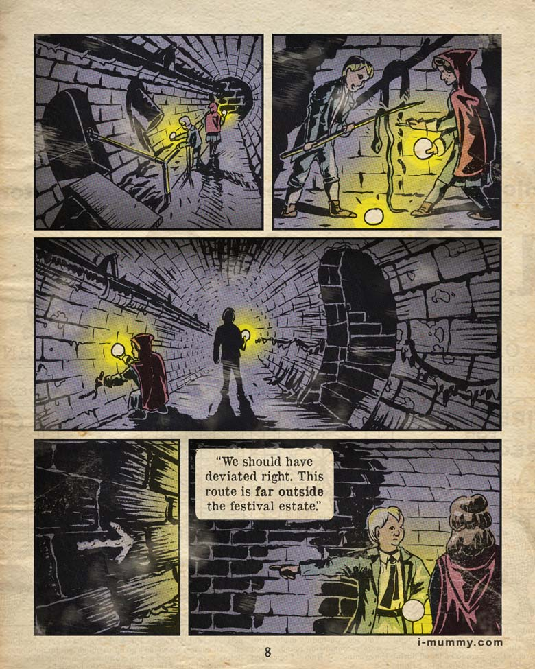 Page 8 – More Tunnels
