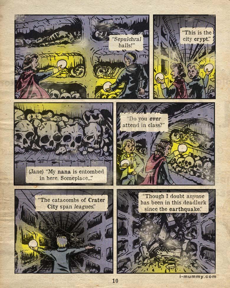 Page 10 – Sepulchral Balls!