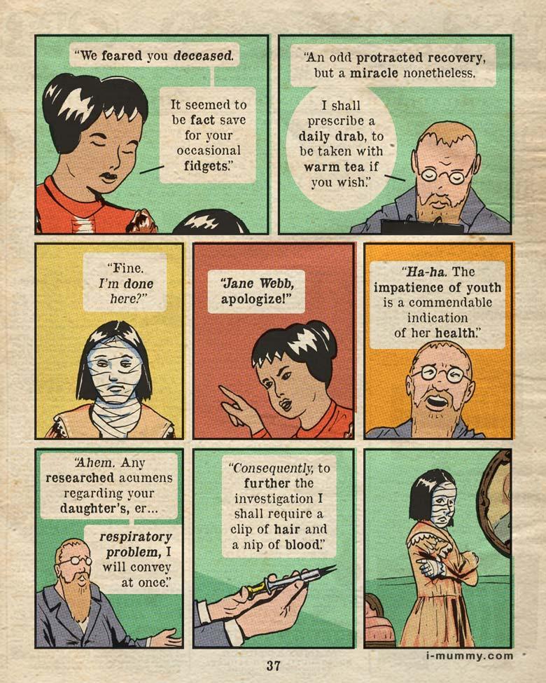 Page 37 – The dead don't fidget