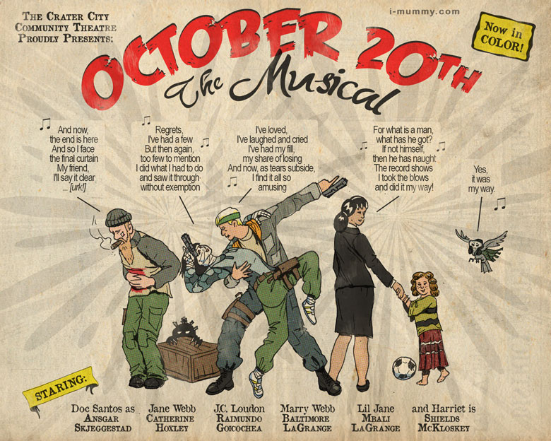 October 20th the musical