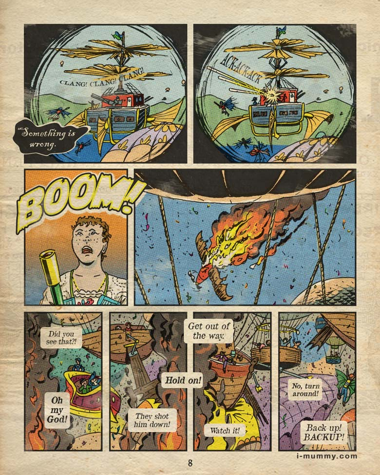 Page 8 – Boom!