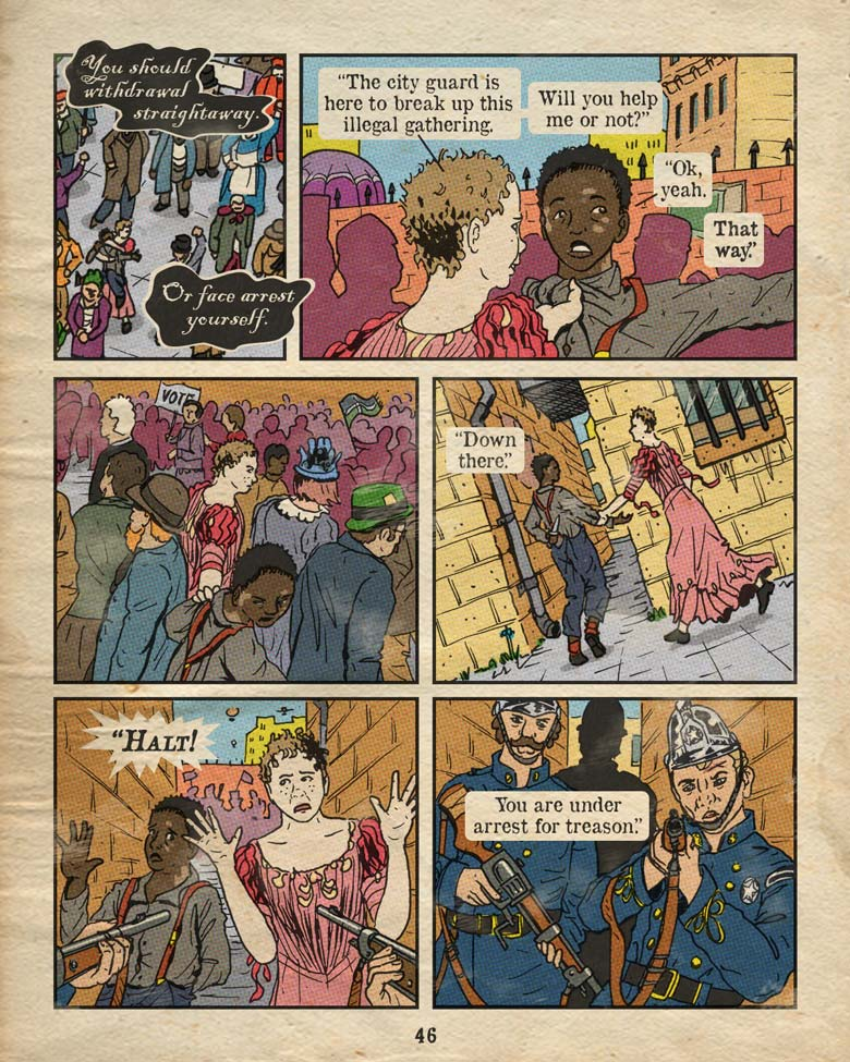 Page 46 – Under Arrest