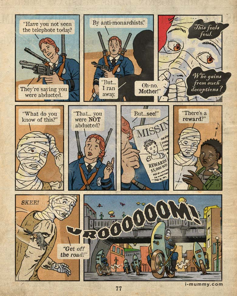 Page 77 – Vroooom!
