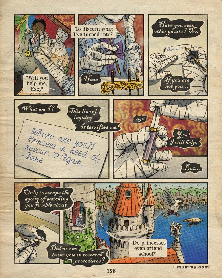 Page 128 – Princess Problems