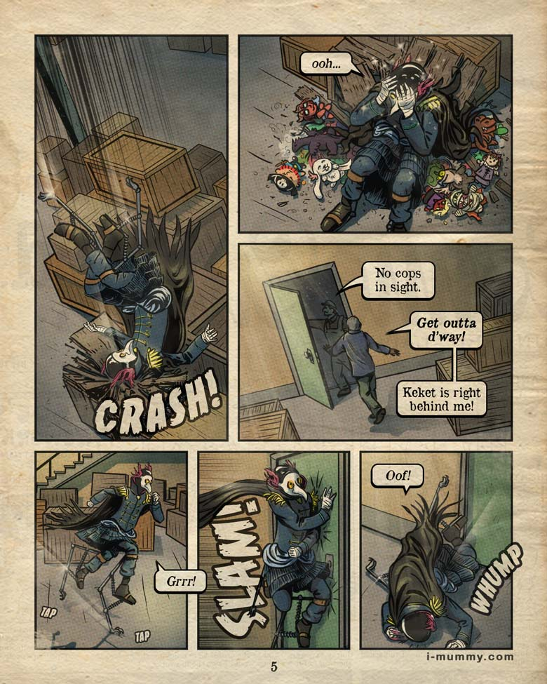 Vol 3, Page 5 – Crash, Slam, Whump