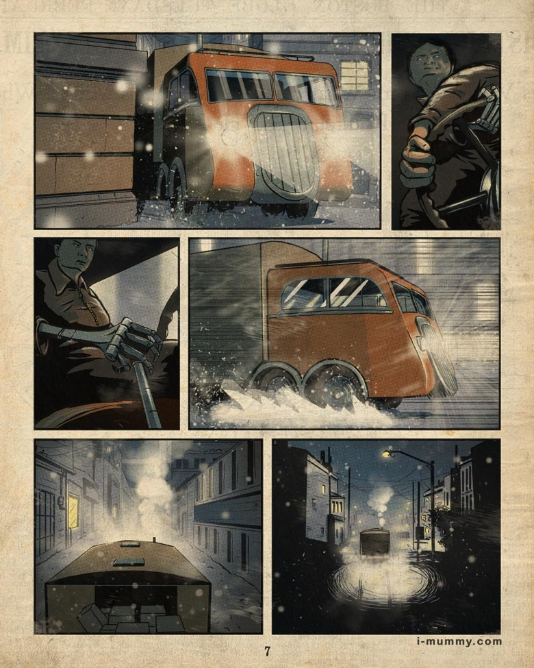 Vol 3, Page 7 – Keep on Truckin