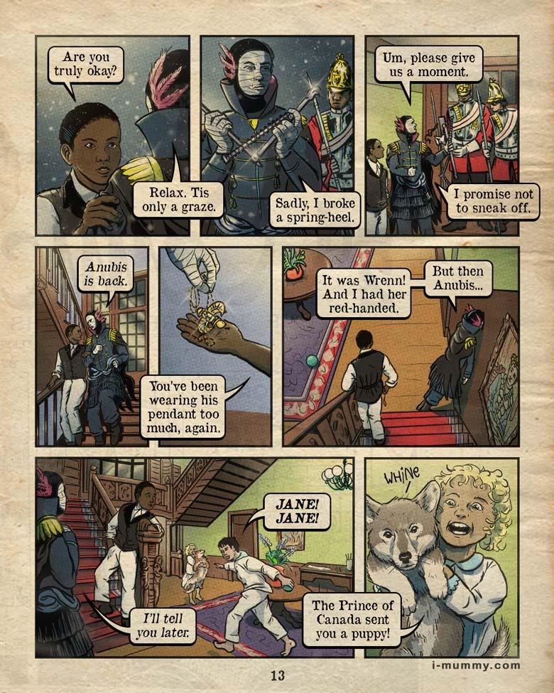 Vol 3, Page 13 – PUPPY!