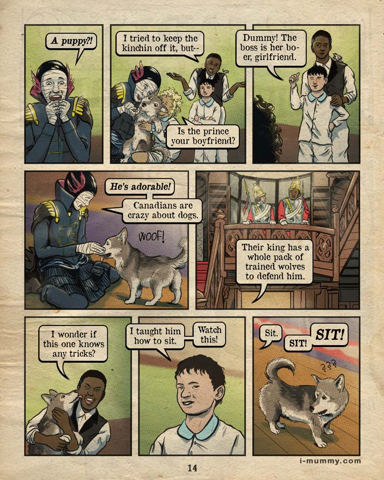 Vol 3, Page 14 – Canadians Are Dog Crazy