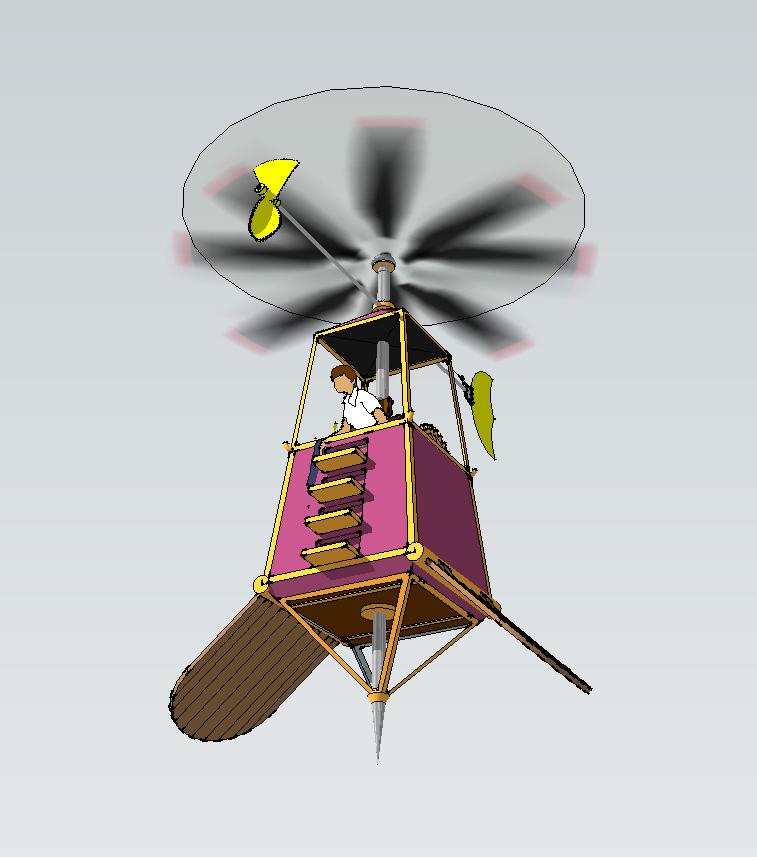 gyrocopter-model