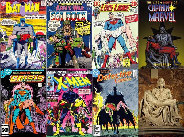 pieta in comics