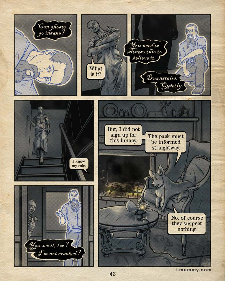 Vol. 3, Page 43 – They Suspect Nothing