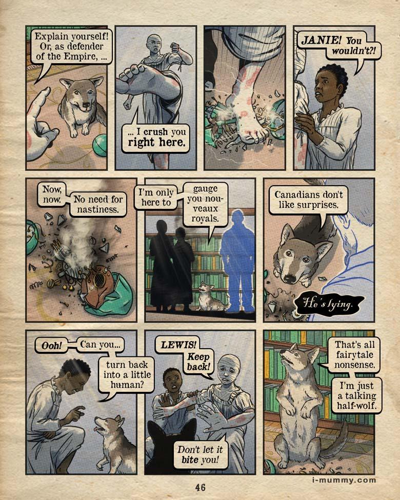 Vol 3, Page 46 – Talking Nonsense