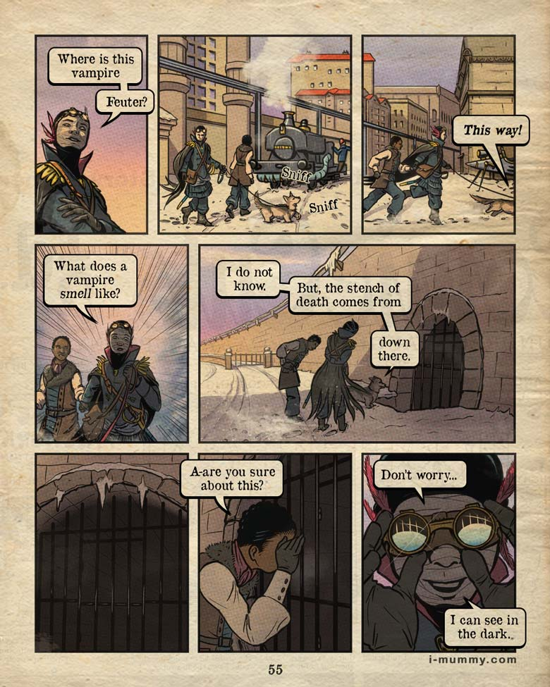 Vol 3, Page 55 – Not the Sewers, Again