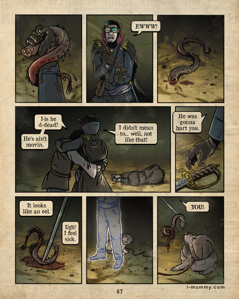 Vol 3, Page 67 – I Feel Sick