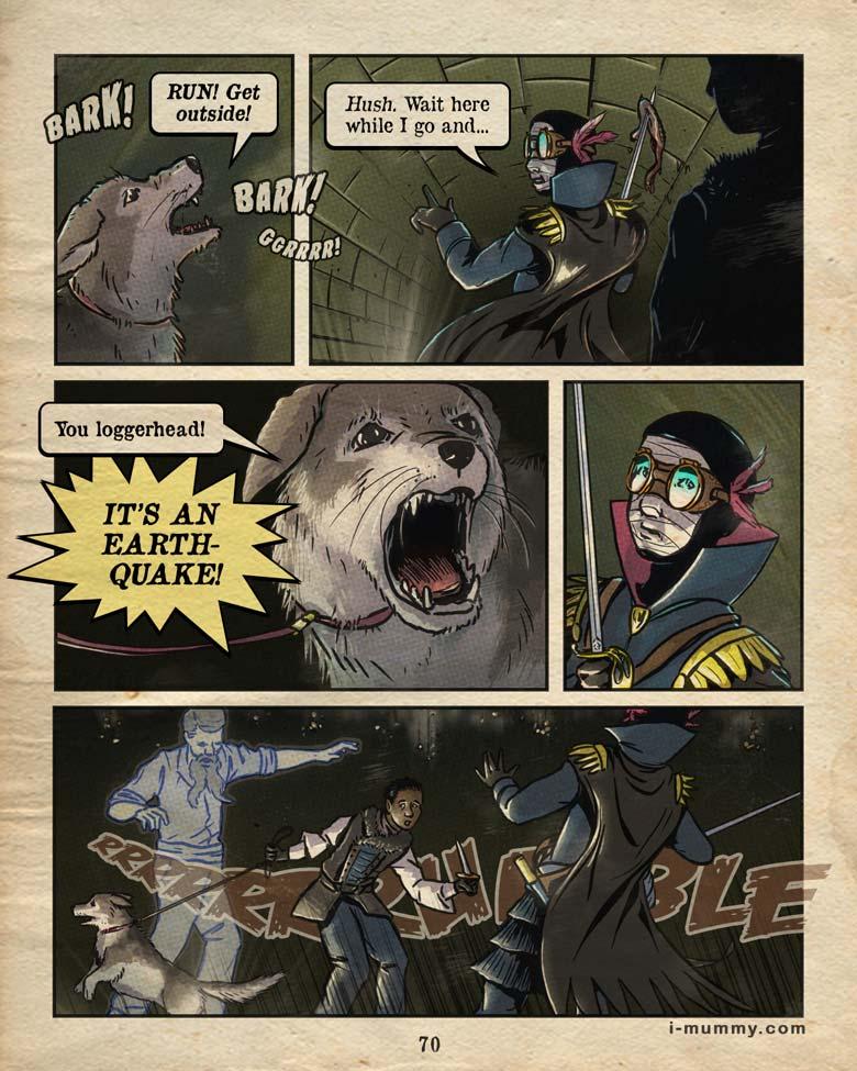 Page 70 – Earthquake!
