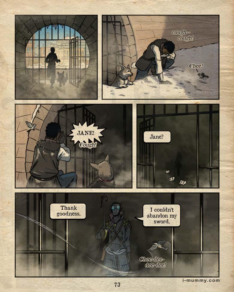 Vol. 3, Page 73 – Trusty Sword